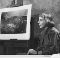 Mary Holmes as an Artist